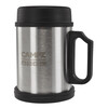 CAMPZ Steel Thermo Mug Bottle 400ml grey/black